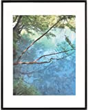 """ARTCARE BY NIELSEN 14""""X18"""" STUDIO COLLECTION MATTE BLACK FRAME, MATTED TO 11""""X14"""""""
