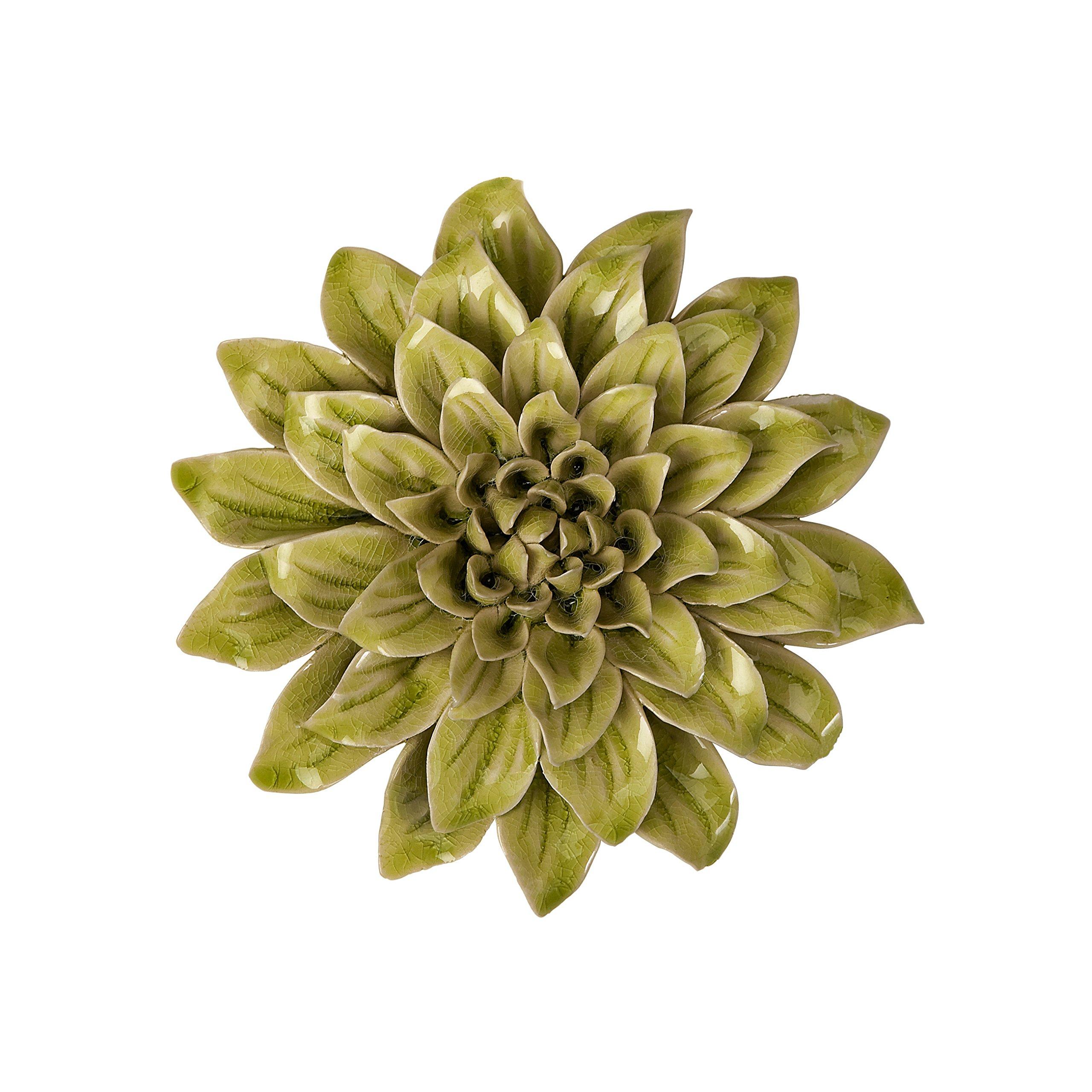Ceramic Wall Flower Decor: Ceramic Flowers: Amazon.com