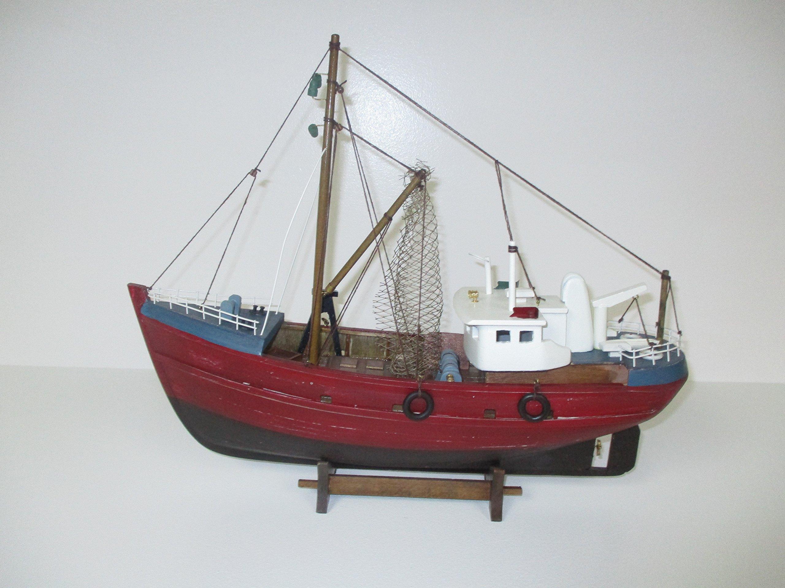 Wood Model Fishing Boat