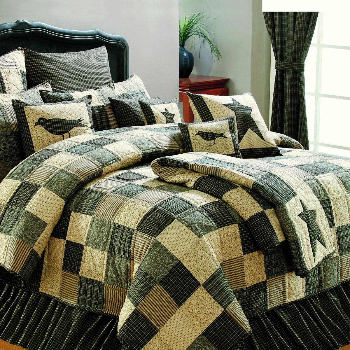 Kettle Grove Luxury King Patchwork Quilt