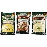 "Bear Creek Country Kitchens Soup Mix 3 Flavor Variety Bundle: (1) Cheddar Broccoli Soup Mix, (1) ""Darn Good"" Chili Mix, and (1) Creamy Potato Soup Mix, 9.8-11.2 Oz. Ea."