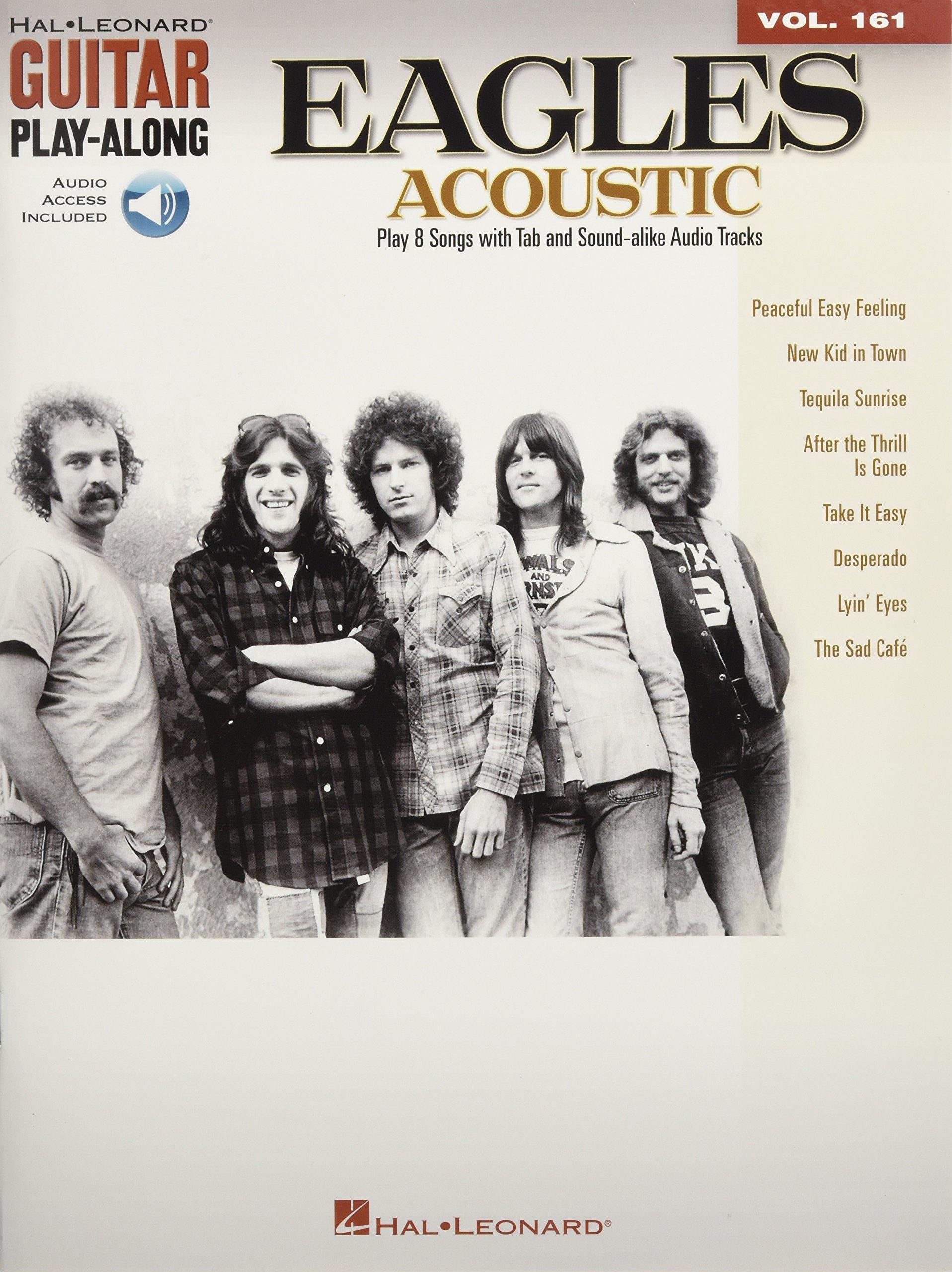 Amazon Eagles Acoustic Guitar Play Along Vol 161