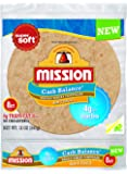 Mission Foods Carb Balance Whole Wheat Soft Taco, 8 ct