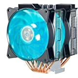Cooler Master MA620P Twin Tower RGB CPU Air Cooler 6 CDC Heat Pipes 2 RGB Master Fan with Intel/AMD AM4 Support Cooling (MAP-D6PN-218PC-R1)