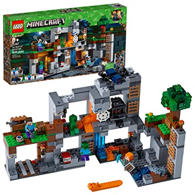 LEGO Minecraft The Bedrock Adventures 21147 Building Kit (644 Pieces): Toys & Games