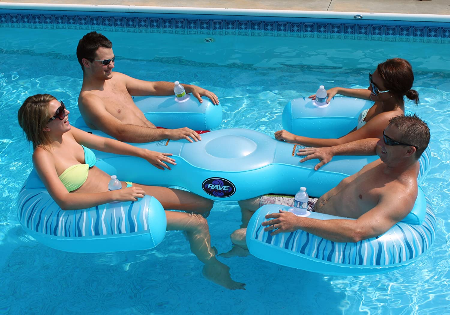 Amazon RAVE Sports Paradise Lounge Floating Lounger Seats Outdoors
