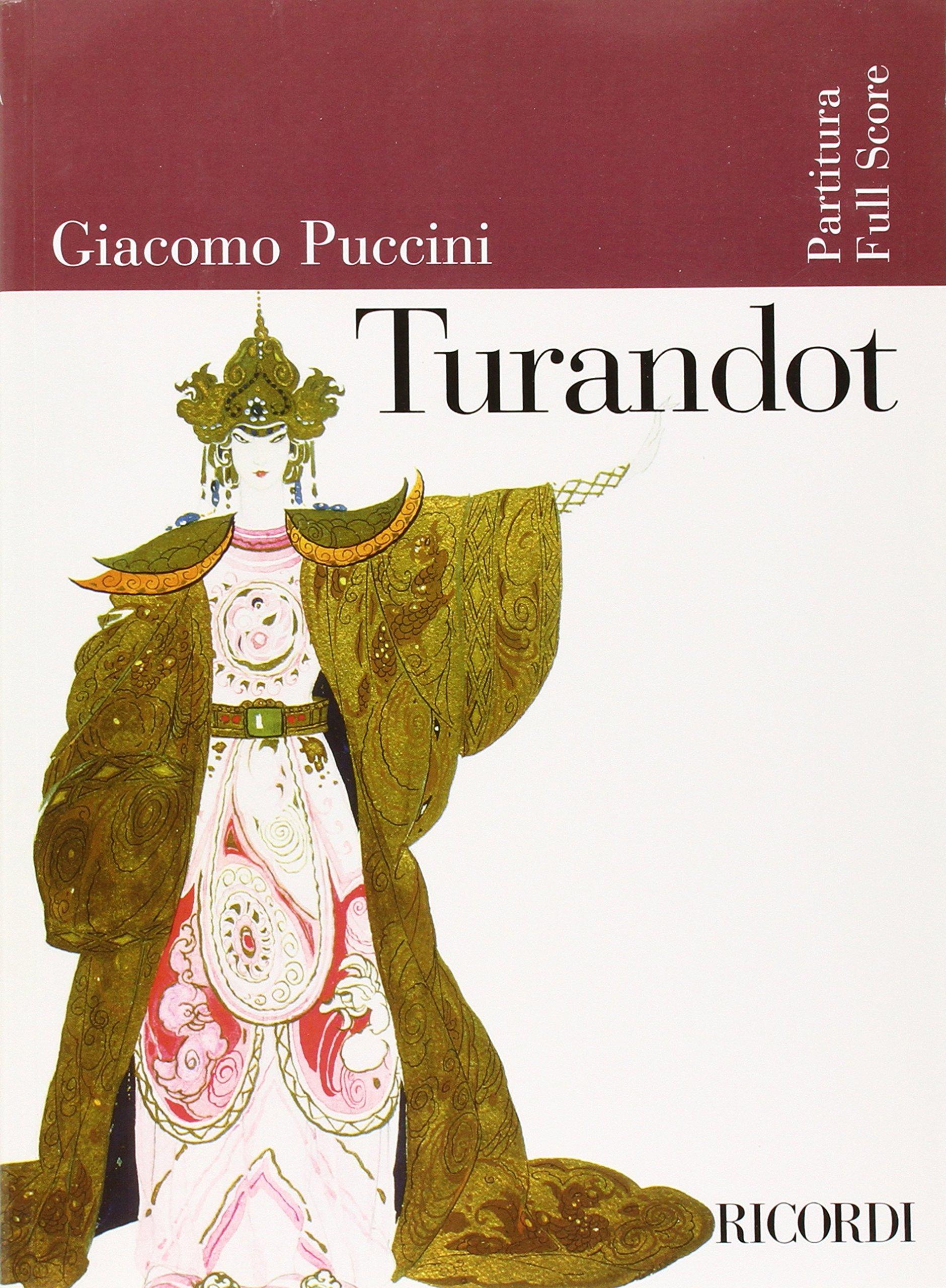 Turandot: Full Score (Ricordi Opera Full Scores): Amazon.co.uk: Giacomo  Puccini: 9780634023859: Books