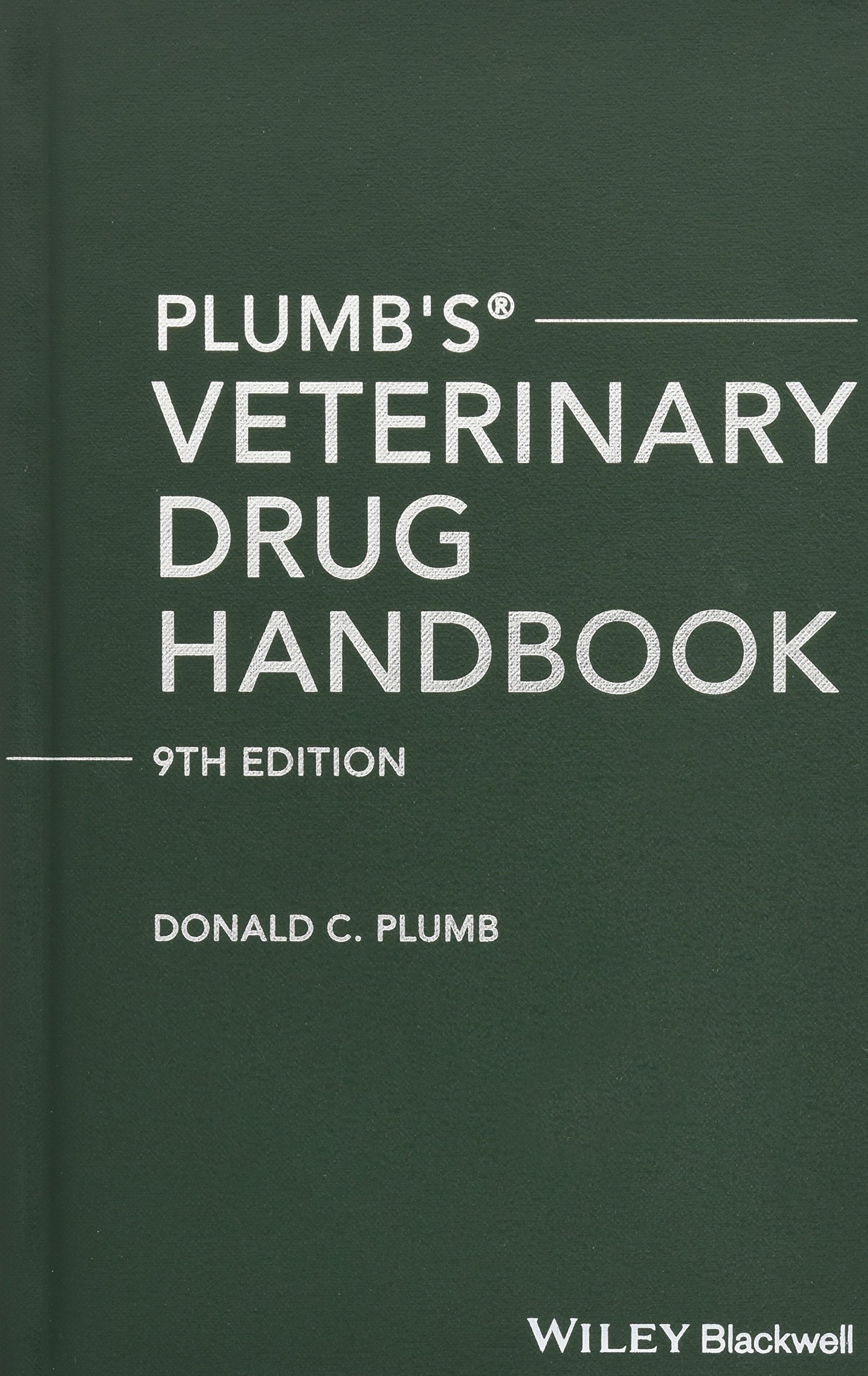 Plumb's Veterinary Drug Handbook: Pocket by Wiley-Blackwell