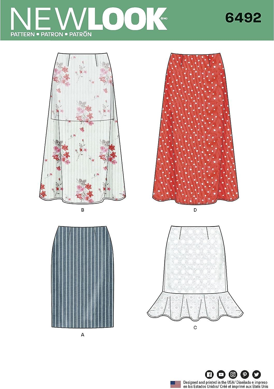 New Look - Patrones de Costura para Faldas con variaciones de ...