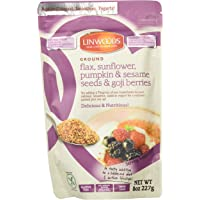 Linwoods Ground Flax Sunflower Pumpkin & Sesame Seeds & Goji Berries -- 8 oz by Linwoods