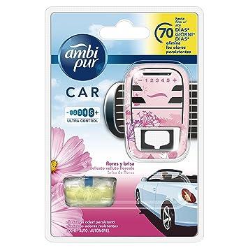 Ambi Pur Car Flores Y Brisa Difusor Y Fragancia Para Ambientador - 7 ml: Amazon.es: Amazon Pantry