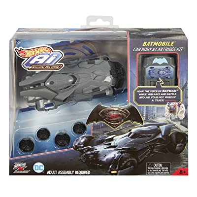 Hot Wheels AI Racing Batmobile Car Body & Cartridge Kit: Toys & Games