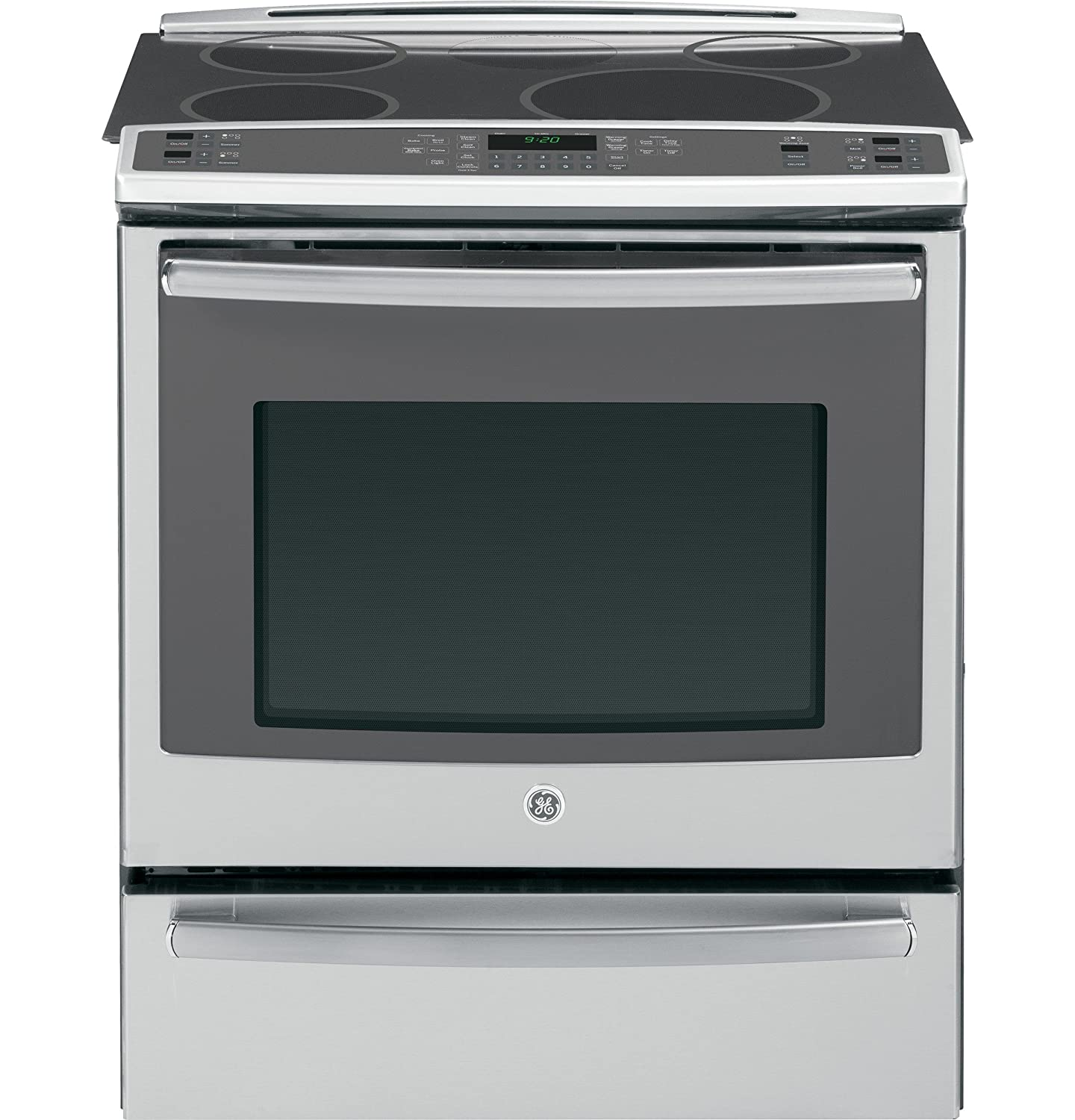 Ultimate Guide To Oven Safety Buying Tips Reviews And Our List Of Electric Vehicle Supply Equipment On Without Hard Wiring Part The Ge Profile Line This Slide In Range Features A Cool Touch Induction Cooktop Self Cleaning With An Available Steam Option