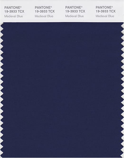 Pantone Smart Carte De Nuances De Couleur Bleu Médiéval