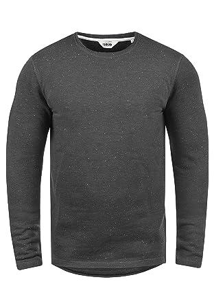 f044afbc3a41 Solid Nappo Herren Sweatshirt Pullover Pulli Mit Rundhalsausschnitt Aus 100%  Baumwolle, Größe
