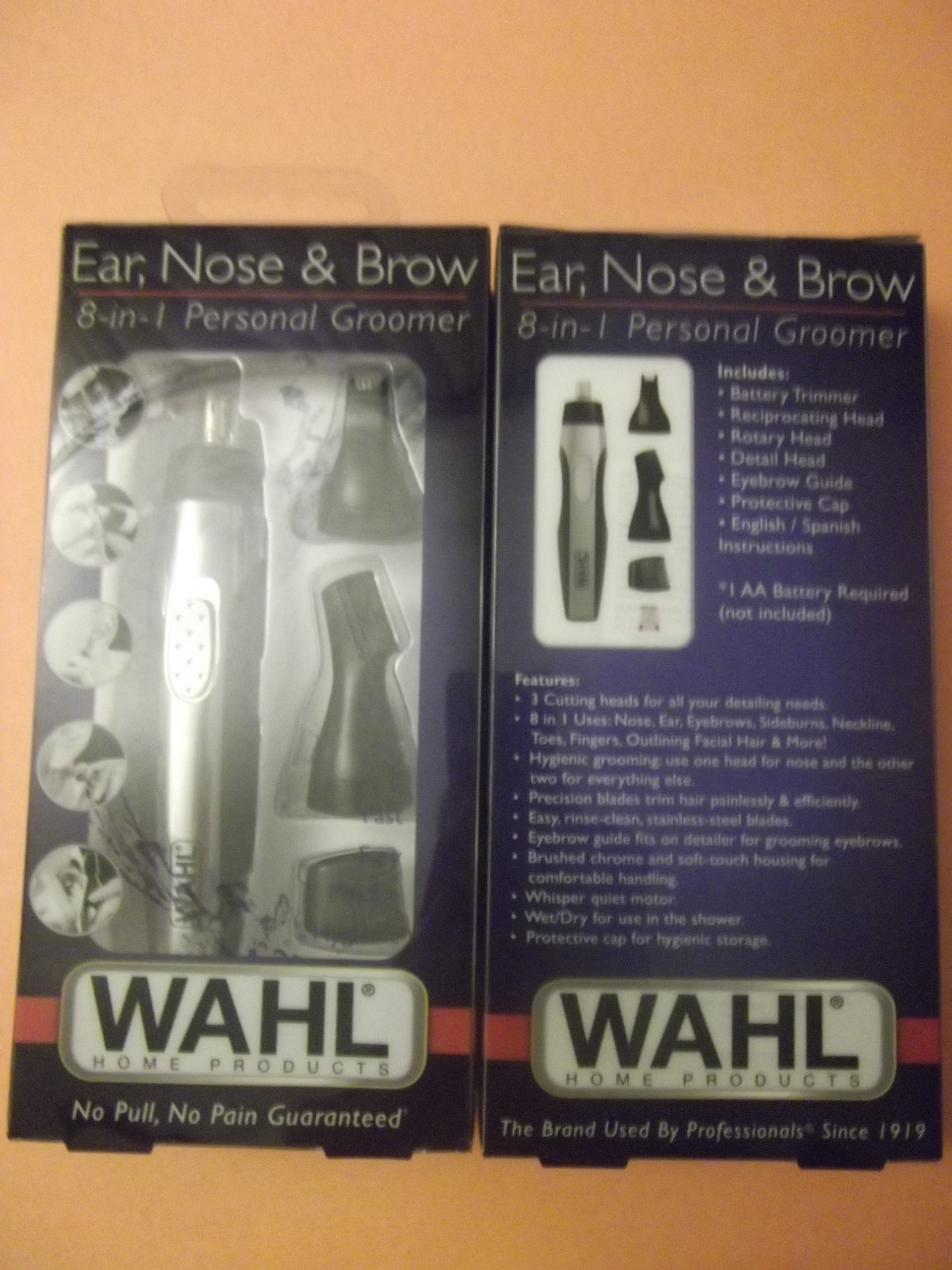 Wahl Ear, Nose & Brow 8-in-1 Personal Groomer