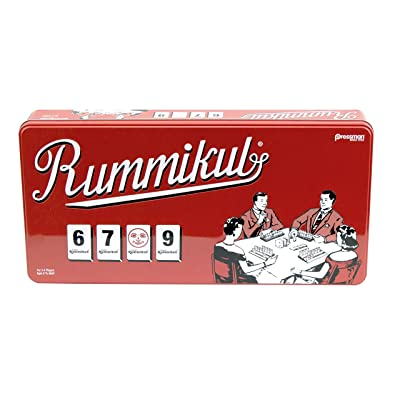Rummikub in Retro Tin - The Original Rummy Tile Game by Pressman: Toys & Games