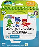 LeapFrog Level 2 LeapStart Book - Moonlight Hero Math with PJ Masks- 3D Enhanced Book