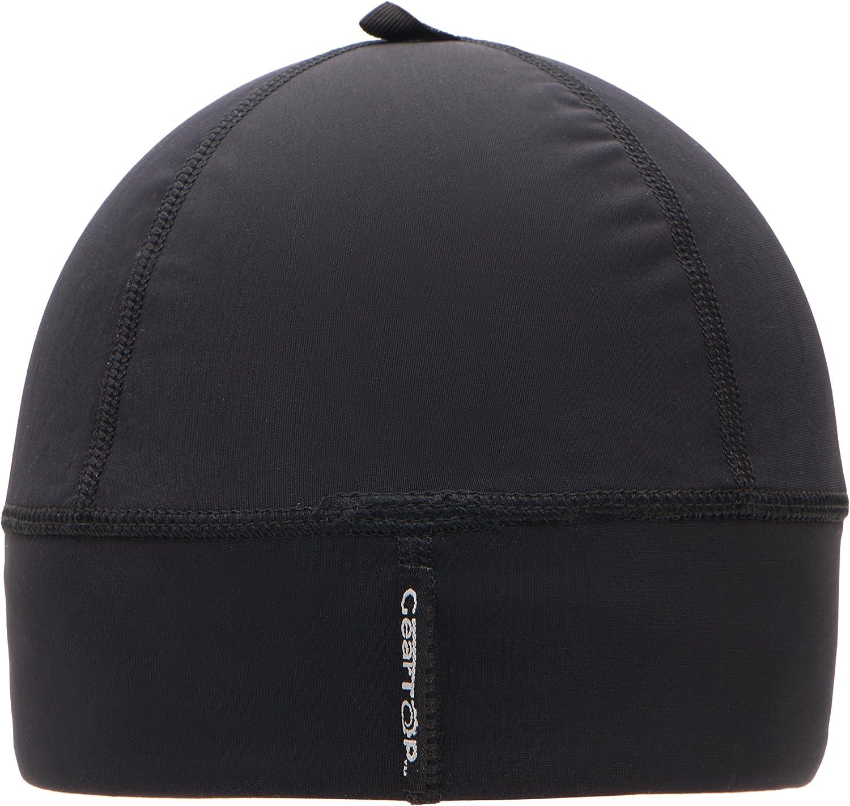 GearTOP Skull Cap Helmet Liner Running Beanie 2 Pack Cool Black