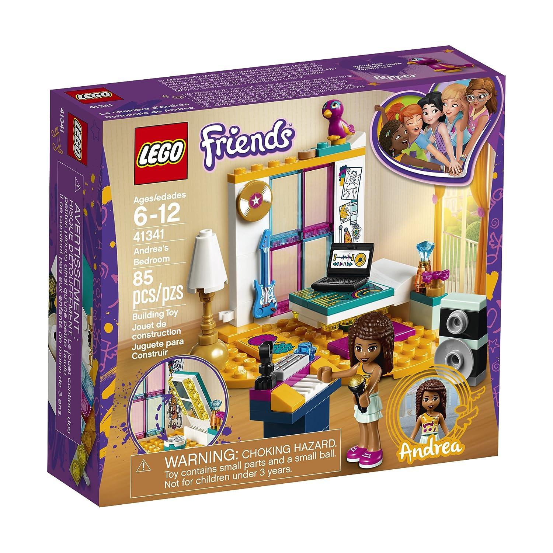 LEGO Friends - La chambre d'Andréa - 41341 - Jeu de Construction