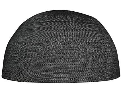 Plain Black Cotton Stretch Knit One-size Kufi Hat Skull Cap - Comfortable  Fit   Everything Else 3fad04e6f14c