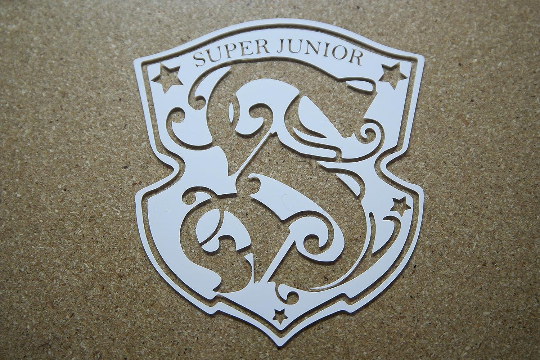 Amazon com worldwide k pop custom super junior decal vinyl sticker 5 for car window laptops gear handmade
