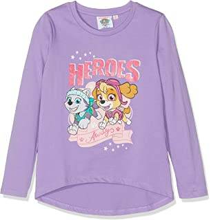9984957fe8 Paw Patrol Girl AUSWAHL Pullover Langarm Shirt T-Shirt Sweatshirt (2 ...