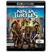 Teenage Mutant: Ninja Turtles (4K UHD & HD) (2-Disc)