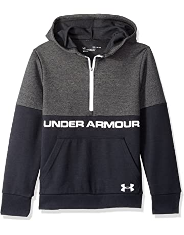 31579115477 Under Armour Children s Unstoppable Double Knit 1 2 Zip Hoody Warm-up Top