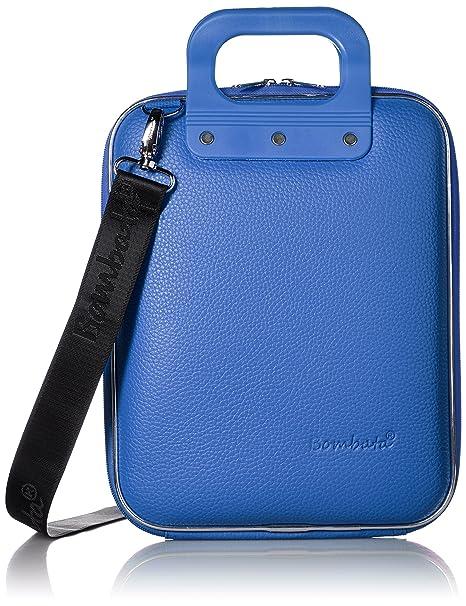 - E00332-18 Blu Bombata-Borsa blu