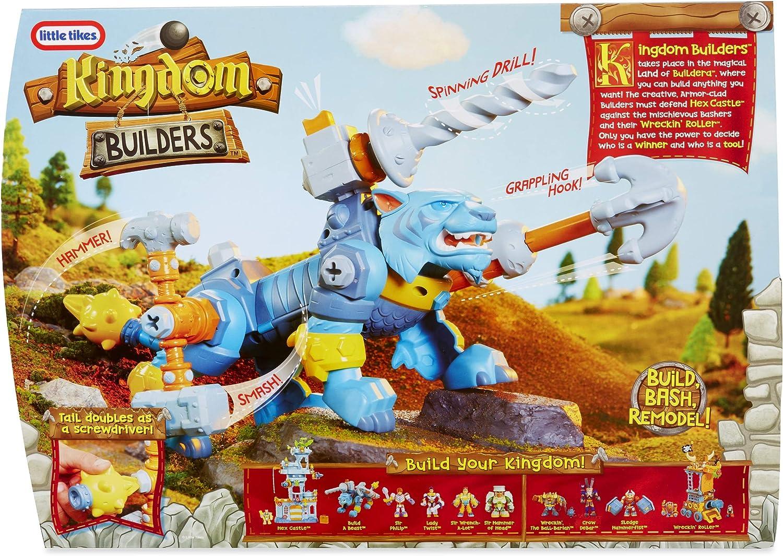 little tikes 647086 Kingdom Builders Build a Beast, Multi Juguete para el Aprendizaje: Amazon.es: Juguetes y juegos