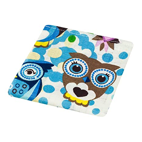 2 cuadrados de muselina para bebé, 100% algodón, 80 x 70 cm,