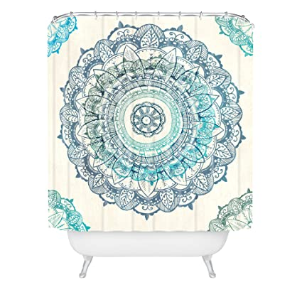 Deny Designs Rosebudstudio Mandala Shower Curtain 69quot