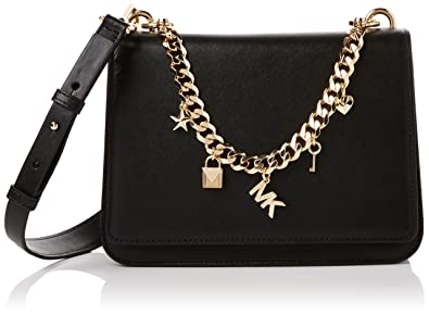 Michael Kors Damen Mott Charm Shoulder Bag Schultertasche