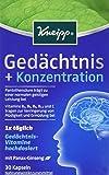 Kneipp Gedächtnius + Konzentration, 30 Kapseln, 2er Pack (2 x 14.9 g)