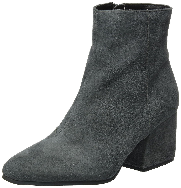 Buffalo London 416-8225 Suede, Botas para Mujer37 EU|Gris (Grey 01)
