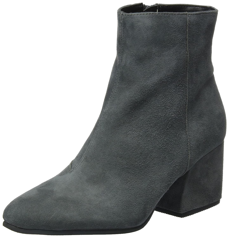 Buffalo London 416-8225 Suede, Botas para Mujer Gris (Grey 01)