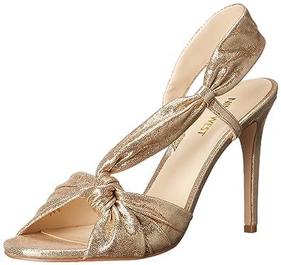 70391514a84 Nine West Women s Ultana Metallic Heeled Sandal