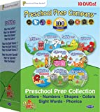 Preschool Prep Series Collection - 10 DVD Boxed Set (Meet the Letters, Meet the Numbers, Meet the Shapes, Meet the…