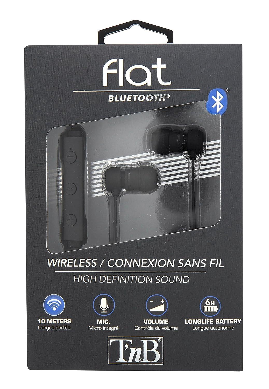 Auriculares inalámbricos con Bluetooth 4.1 y micrófono: Amazon.es: Electrónica