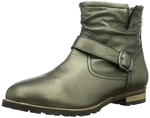 Andrea Conti 1418564036, Botines para Mujer, Platin, 40 EU: Amazon.es: Zapatos y complementos