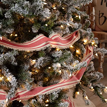 Christmas Tree Garland.Piper Classics Mill Creek Red Christmas Tree Garland 9ft Country Farmhouse Christmas And Holiday Seasonal Decor