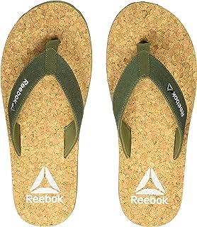 fa89074ea6e108 Reebok Men s Cork Flip-Flops and House Slippers
