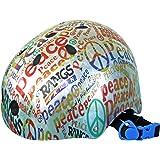 ラングスジャパン (RANGS) アクティブスポーツヘルメット ピース レッド