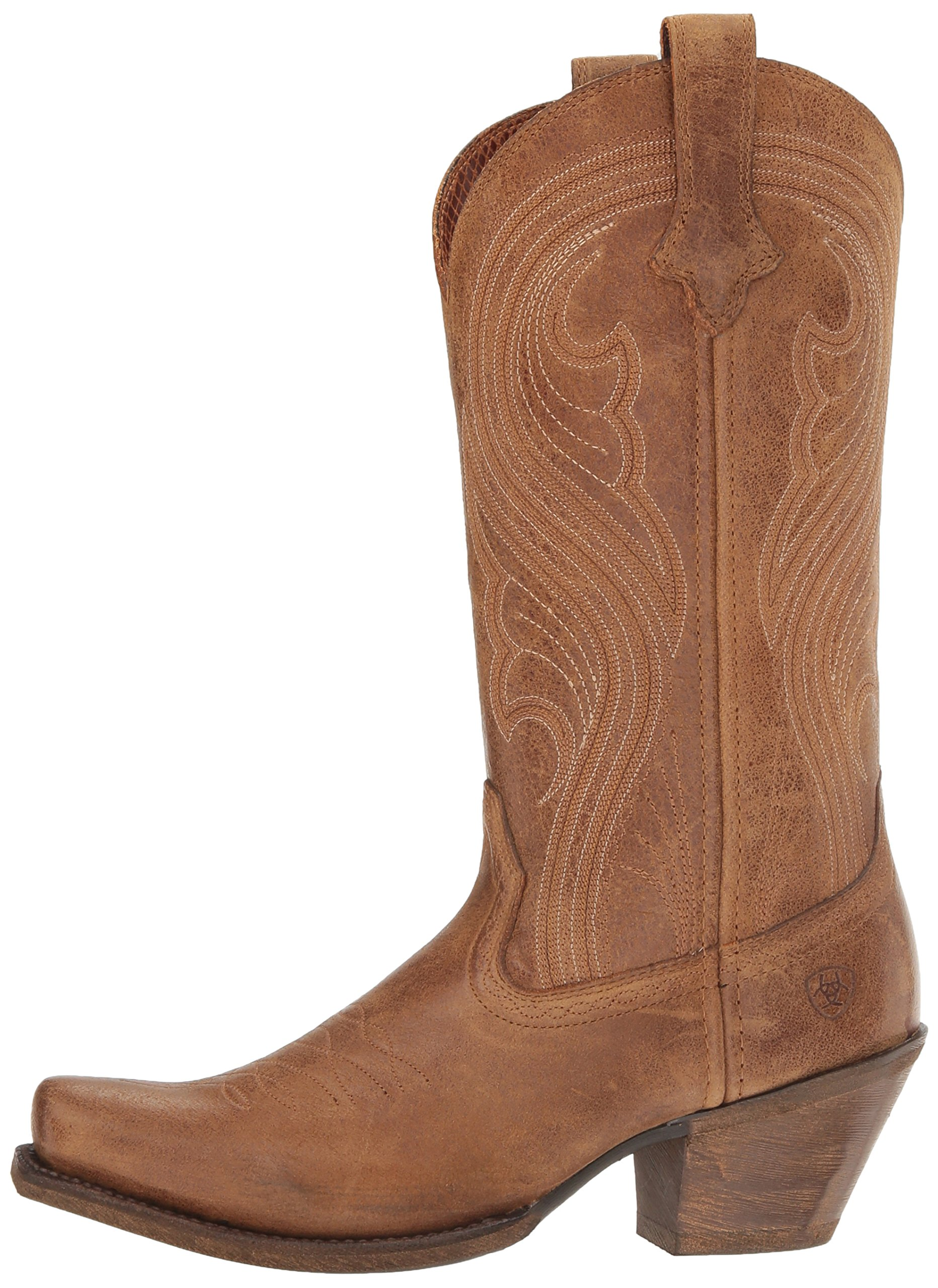 Ariat Women's Lively Western Cowboy Boot, Old West Brown, 9 B US by Ariat (Image #5)