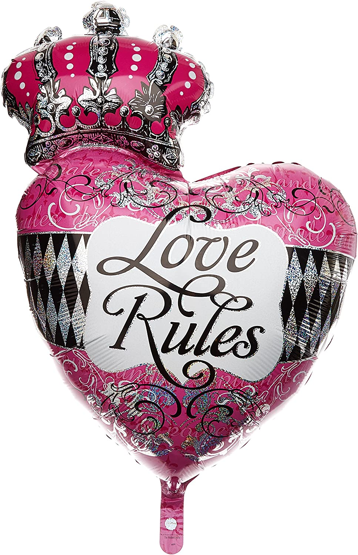 Amscan Internacional balón inflable con la inscripción reglas del ...