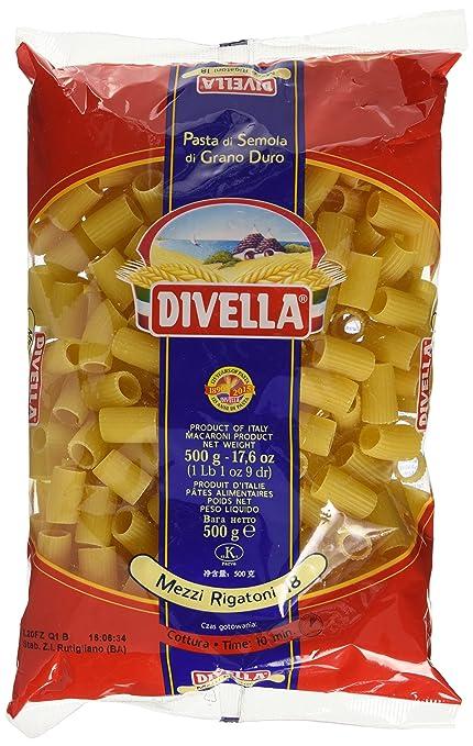 9 opinioni per Divella Mezzi Rigatoni- 500 gr