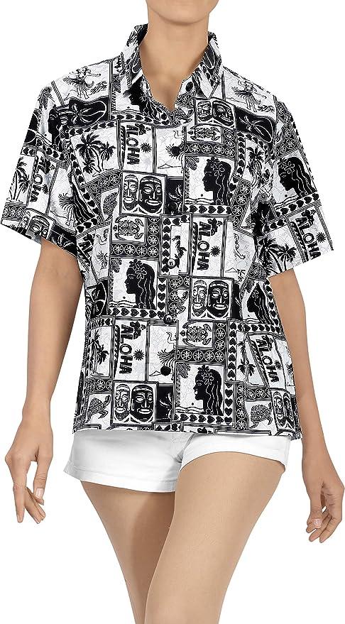 Ropa de Playa Camisa de Vestir Casual Blusa de Manga Corta con Botones Tapa del Tanque de Las se�Oras Cubre a Las Mujeres: Amazon.es: Ropa y accesorios