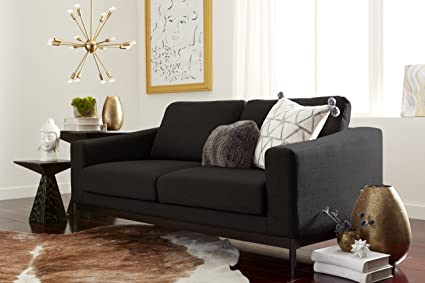 Amazon.com: Elle Decor Olivia Loveseat, Fabric, French ...