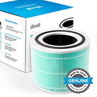 LEVOIT Core 300 Air Purifier Replacement Filter, 3-in-1 Pre-Filter, True HEPA Filter...
